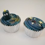 Doctor Who TARDIS and Time Vortex Cupcakes [pic]