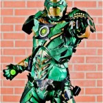 Iron Man + Green Lantern = Iron Lantern Cosplay [pic]