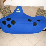 Legend of Zelda Ocarina Fleece Blanket [pic]
