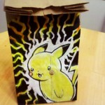 Pikachu Lunch Bag Art [pic]