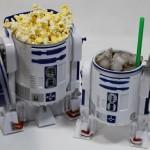 R2-D2 Plastic Popcorn Bucket & Drink Stein Set [pic]