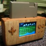 Wooden Portable NES is Amazing! [pic]