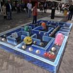 Amazing 3D Pac-Man Street Art [pic]