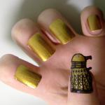 Dalek Fingernail Art [pic]