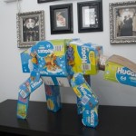 Build Your Own Star Wars AT-AT From Diaper Boxes [pic]