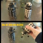 Dalek Salt and Pepper Shakers [pic]