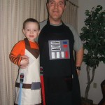 Star Wars Father and Son Cooking Aprons [pic]
