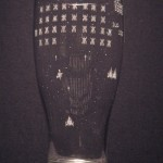 Awesome Galaga Engraved Pilsner Glass [pic]