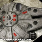 LEGO Millennium Falcon Cake [pic]