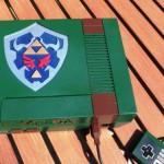Spectacular Legend of Zelda NES Console Mod [pics]