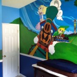 Dad Paints Amazing Legend of Zelda Nursery [pic + video]