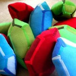 Legend of Zelda Rupee Pillows are Awesome! [pic]