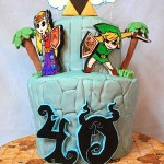 Fantastic Legend of Zelda: Wind Waker Birthday Cake [pic]