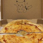 Pikachu and His Pokeball Pizza [pic]