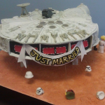 Sweet Millennium Falcon Wedding Cake [pics]