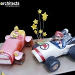 Behold!  The World's Most Amazing Mario Kart Cakes!  [pic]