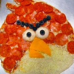 This Angry Birds Pizza is Ready for the Oven! [pic]