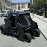 When Batman Goes Golfing, He Uses the Batcart [pic]