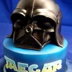 Darth Vader Helmet Birthday Cake [pic]