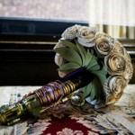 Sonic Screwdriver Wedding Bouquet [pic]
