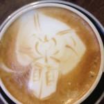 TARDIS Latte Art [pic]