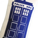 Doctor Who Inspired TARDIS Pillow [pic]