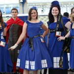 Doctor Who Rory and the TARDIS Girls Cosplay [pic]