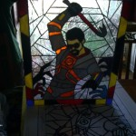 Half Life Gordon Freeman Stained Glass [pic]