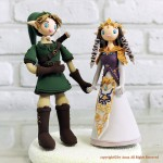 Amazing Legend of Zelda Wedding Cake Toppers [pic]