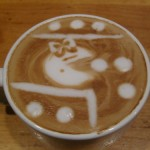 Ms. Pac-Man Latte Art [pic]