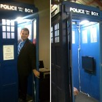 A Guy Made a TARDIS Photo Booth [pic + video]