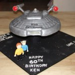 Awesome Star Trek: Enterprise Birthday Cake [pic]