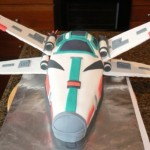 Star Wars X-Wing Fighter Cake [pics]