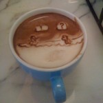 Super Mario Bros Latte Art [pic]