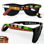 Hand-Painted Super Mario Bros Sunglasses [pic]