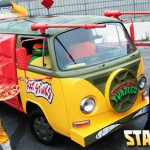 Street Legal Teenage Mutant Ninja Turtles Van and Cosplay [pic]