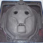 This Cyberman Cake is Fantastic! [pic]