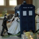 This Doctor Who Wedding Cake Topper is Fantastic! [pic]