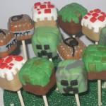 Minecraft Cake Pops [pic]
