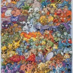 Amazing First Generation Pokemon Cross-Stitch [pic]