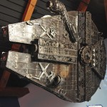900 Pound Millennium Falcon Made from Car Parts [pic]