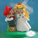 Super Mario and Princess Peach Cake Topper [pic]