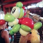 Yoshi Balloon Animal [pic]