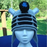 Dalek Earflap Knitted Hat [pic]
