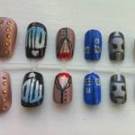 Fantastic Doctor Who Fake Fingernails [pic]