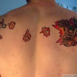 Mario Fires at Bowser in this Awesome Tattoo [pic]