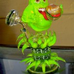 Ghostbusters Slimer Glass Pipe [pic]
