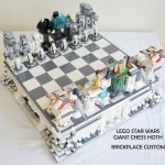 Star Wars LEGO Hoth Battle Chess Set [pics]