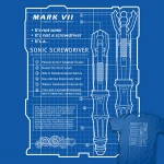 Sonic Screwdriver Blueprint T-Shirt [pic]
