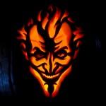 Creepy Batman: Arkham Asylum Joker Jack-O-Lantern [pic]